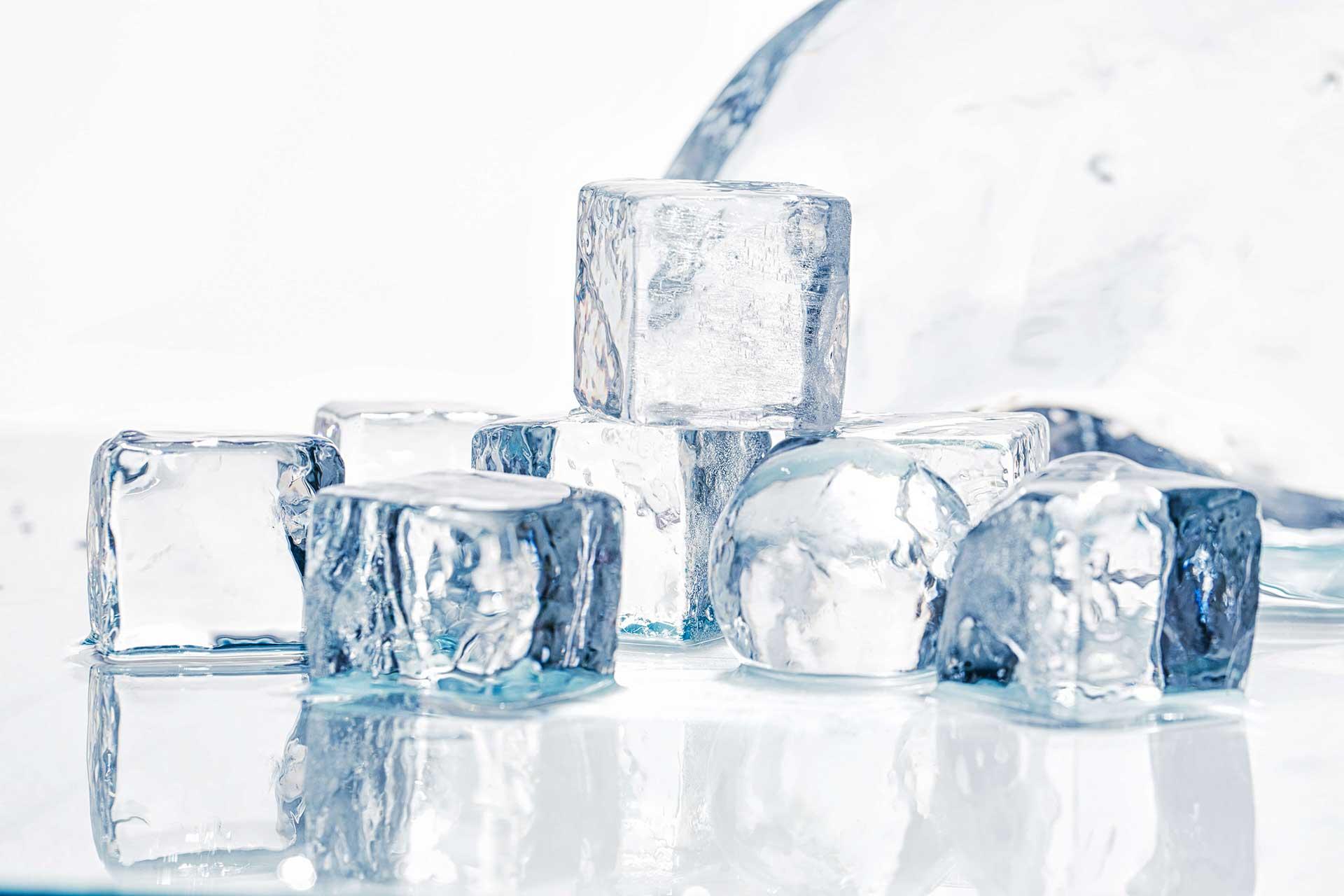 מכונות קרח – קוביות