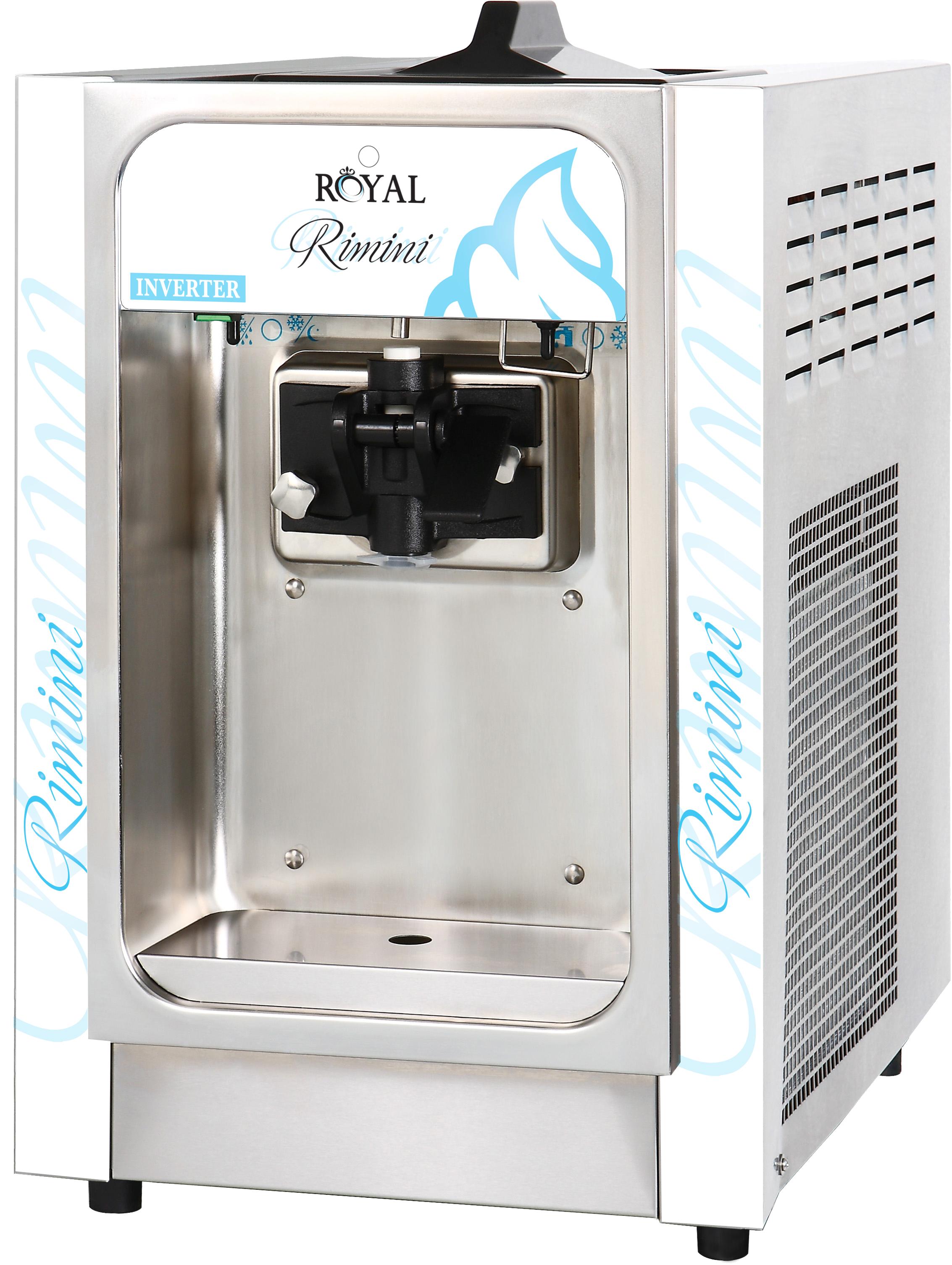 מבריק מכונת גלידה אמריקאית דלפקית RIMINI - IceRoyal JI-56