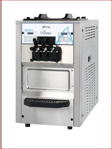 מפואר מכונת גלידה אמריקאית מנפחת ROMA - IceRoyal FV-81