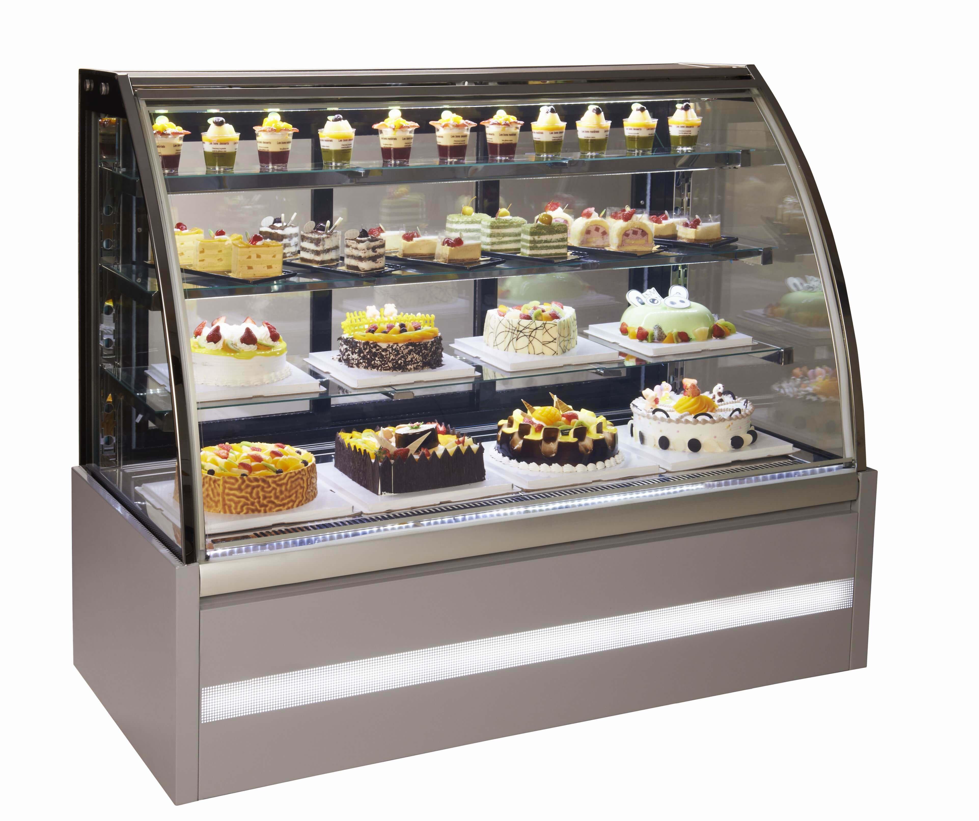 מקררי עוגות / מקפיאי עוגות גלידה