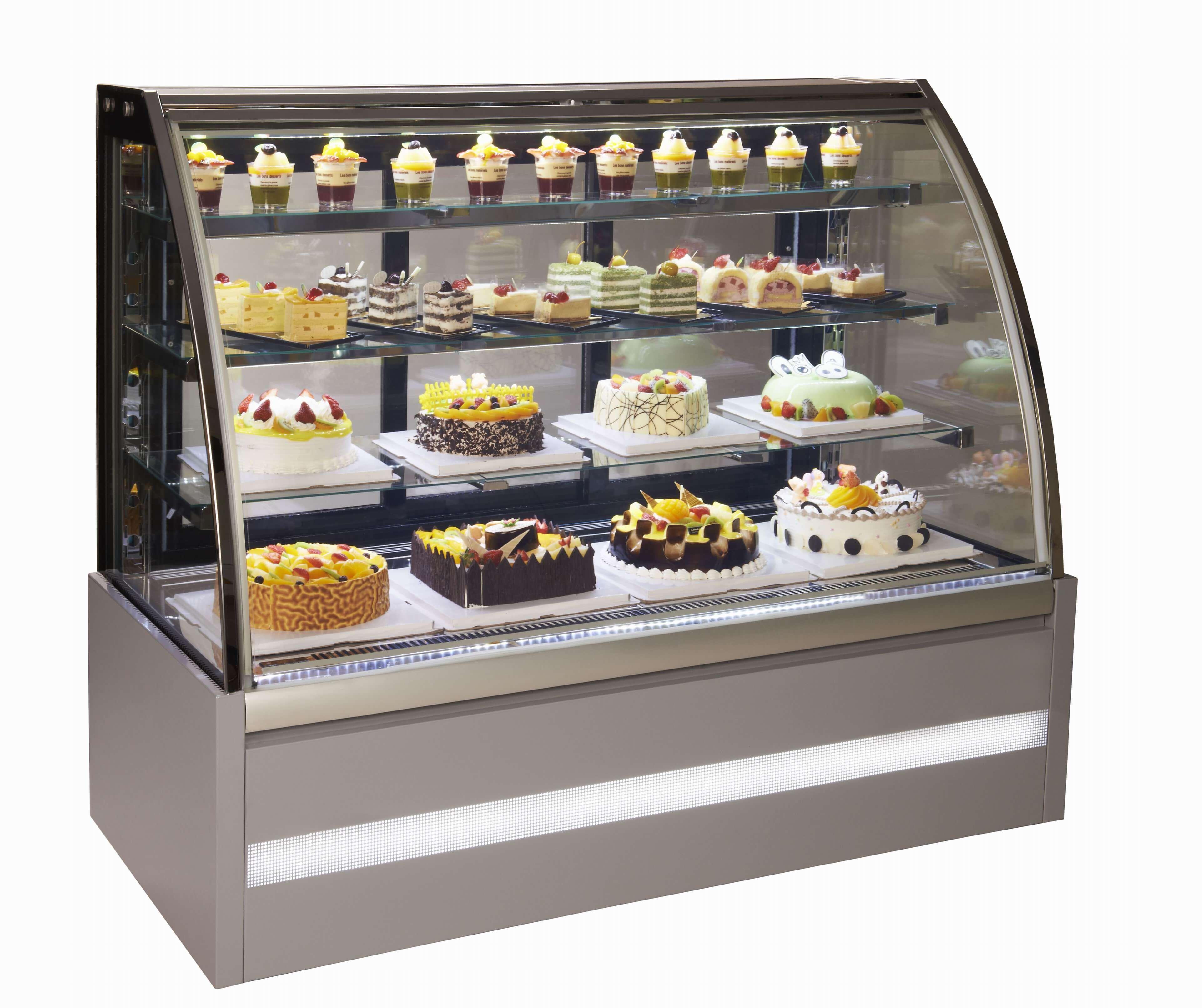 מקרר תצוגה לעוגות וקינוחים דגם VISION