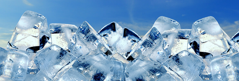 מכונות קרח - קוביות