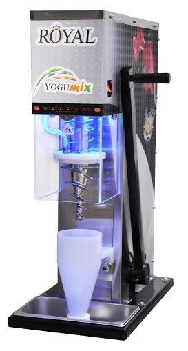 מכונות פרוזן יוגורט / ערבוב גלידה עם תוספות / כתישת קרח