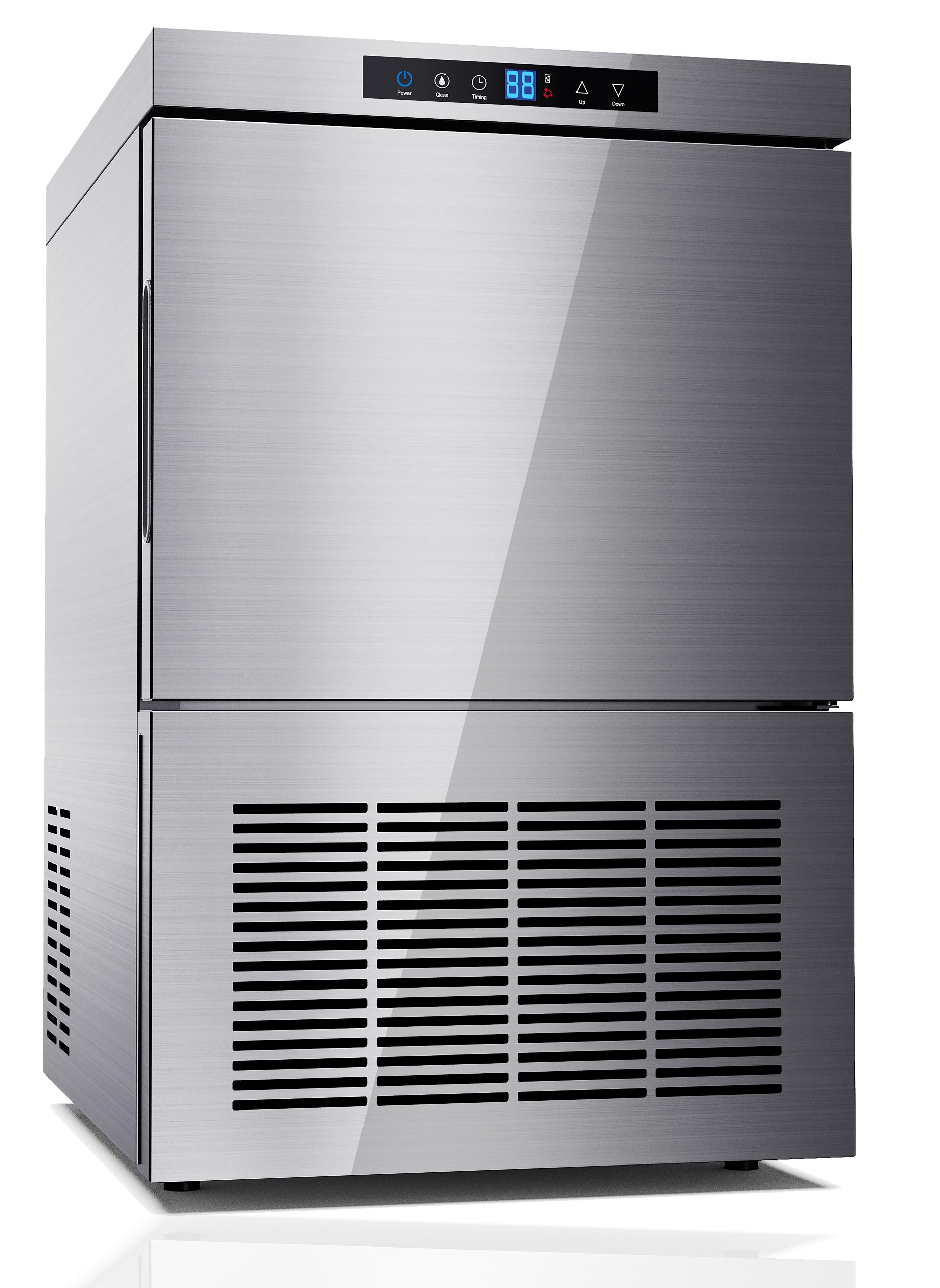 מכונת קרח נירוסטה קומפקטית לבית ולעסק ZB-20