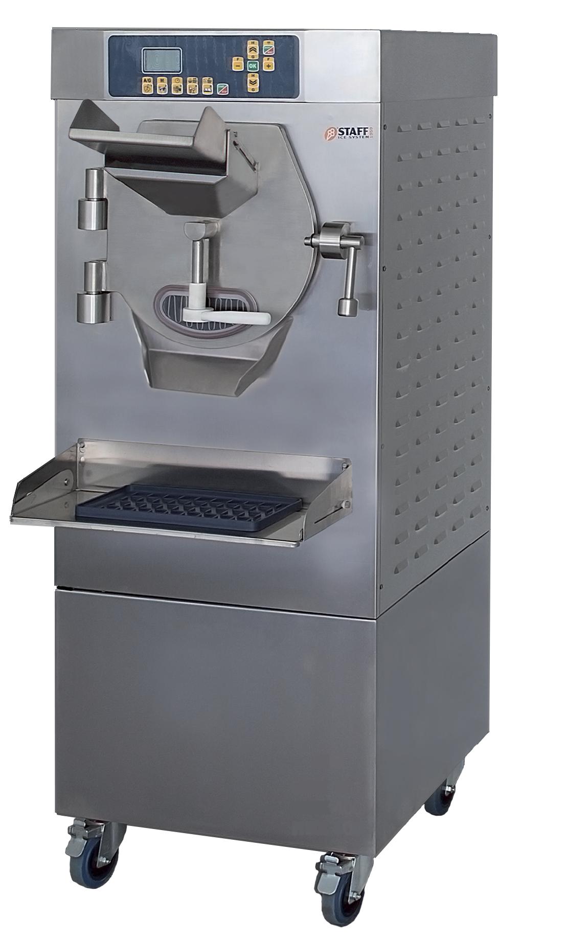 מכונה לייצור גלידה איטלקית HBX מבית STAFF איטליה